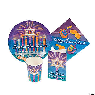 Hanukkah Tableware & Invites