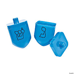 Hanukkah Dreidel-Shaped Containers