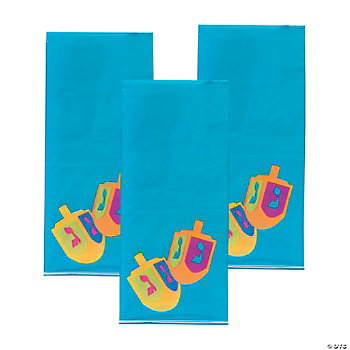 Hanukkah Cellophane Bags