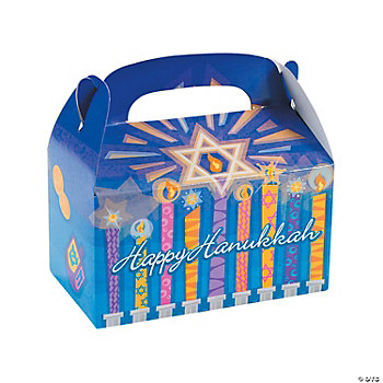 Hanukkah Treat Boxes