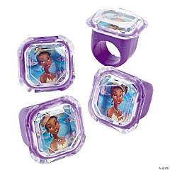 The Princess & The Frog Jewel Rings