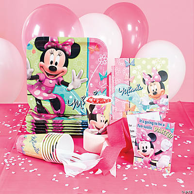 Minnie Mouse's Bow-Tique Basic Party Pack