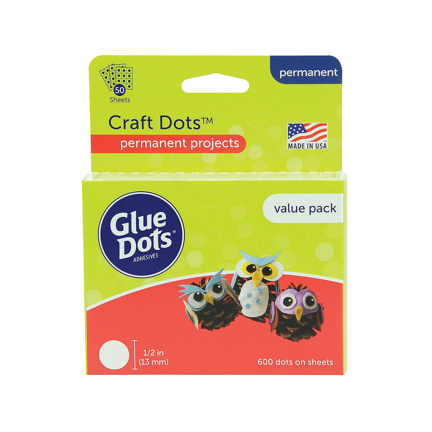 Craft Clear Glue Dots 174 Oriental Trading