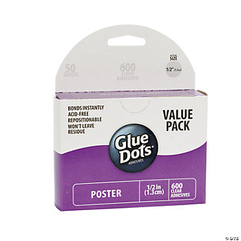 Poster Clear Glue Dots®
