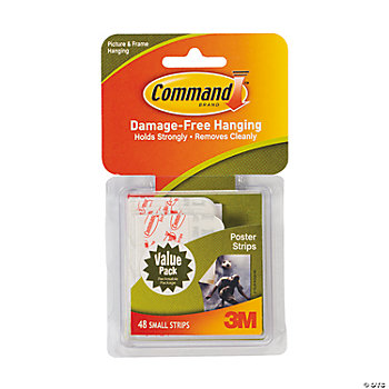 3M® Command™ Small Poster Strips