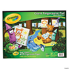 Crayola® Giant Finger Paint Pad