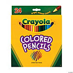 Crayola® Color Pencils - 24 pcs.