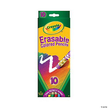 Crayola® Erasable Colored Pencils - 10 Count