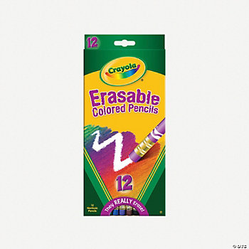 Crayola® Erasable Colored Pencils - 12 Count