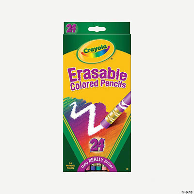 Crayola® Erasable Colored Pencils - 24 Count