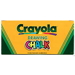 24 COLOR CRAYOLA DRAWING CHALK 144 CT ASSTD COLOR