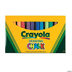 12-Color Crayola® Colored Drawing Chalk