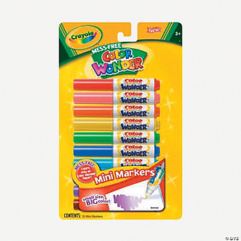 Crayola® Color Wonder Mini Markers