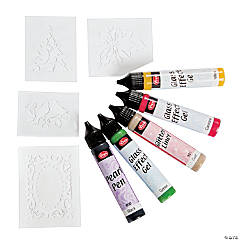 Viva Décor Christmas Glass Paint Pens
