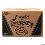 Crayola® Air-Dry Clay - 25 lbs.