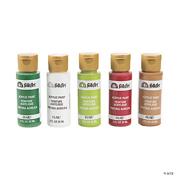 Acrylic Paint Set – Christmas Colors