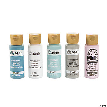 Acrylic Paint Set – Winter Colors