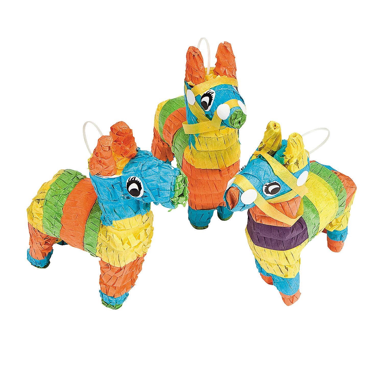 Mini donkey pi ata decorations oriental trading for K decorations trading