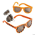 Plastic Animal Print Sunglasses