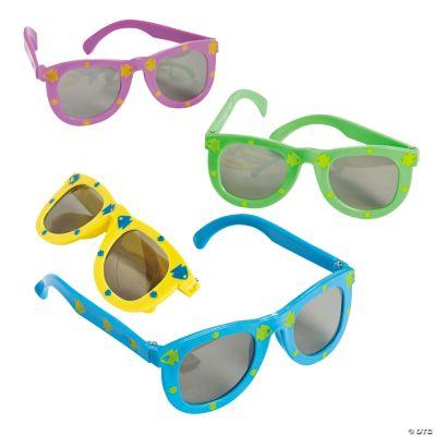 Fish Print Kiddie Sunglasses