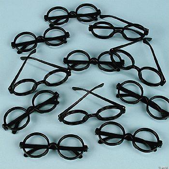 Black Rimmed Plastic Eyeglasses