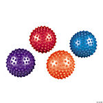 Rubber Metallic Spike Balls