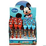 Plastic Disney Mickey Mouse Light-Up Bubble Pens With Stamper