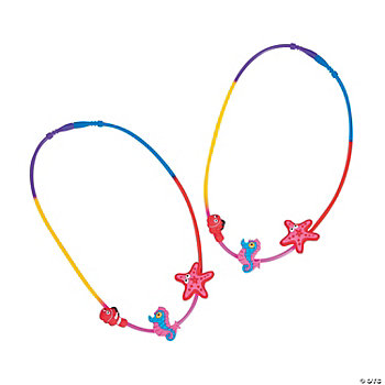 Silicone String Sea Life Necklaces