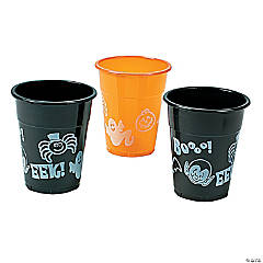 Plastic Halloween Disposable Cups