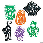 Plastic Halloween Tracing Figure Bookmarks