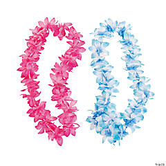 Flower Leis with Beads