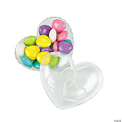Two Hearts Heart-Shaped Favor Boxes