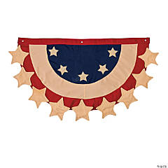 Personalized Patriotic Bunting