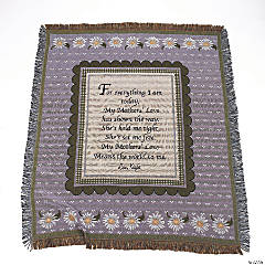 """Mothers"" Tapestry Throw"