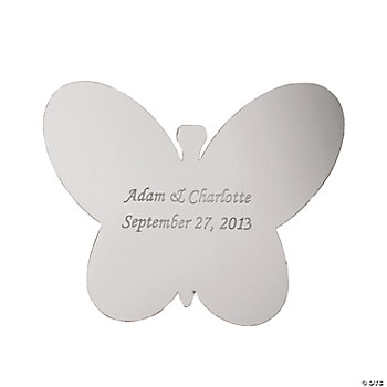 Butterfly-Shaped Sticker Mirror