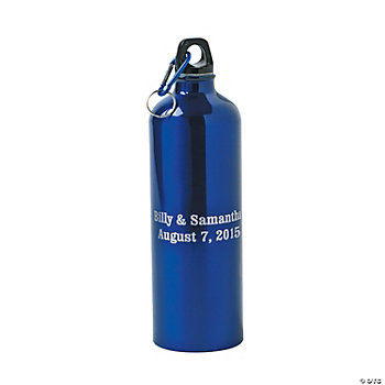 Personalized Water Bottle - Blue