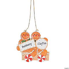Two Gingerbread Men Ornament
