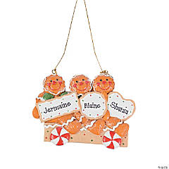 Three Gingerbread Men Ornament