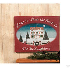 "Personalized ""Home Is Where the Heart Is"" Print"