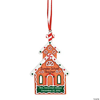 """Sunday School Teacher"" Ornament"
