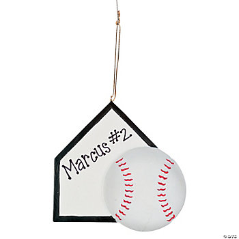 Sports Ornament - Baseball