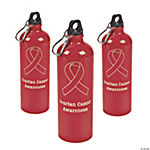 Red Awareness Water Bottle