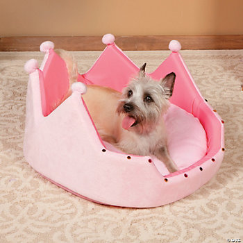 "Plush ""Princess"" Pet Bed"