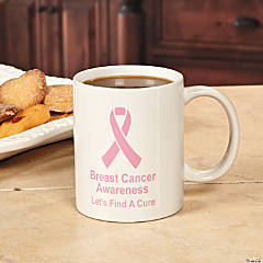 Pink Ribbon Coffee Mug