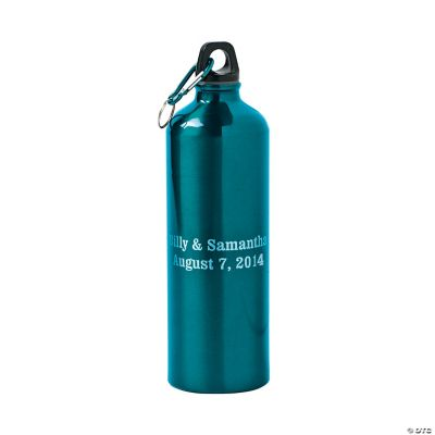 Teal Personalized Water Bottle