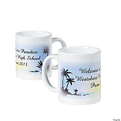 Personalized Luau Coffee Mug