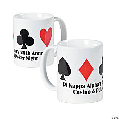 Personalized Casino Coffee Mug