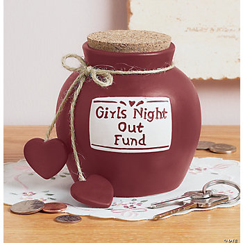 """Girls Night Out Fund"" Jug"