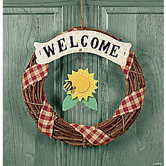 "Changing Seasons ""Welcome"" Wreath"