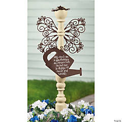 Spindle Garden Angel Yard Stake